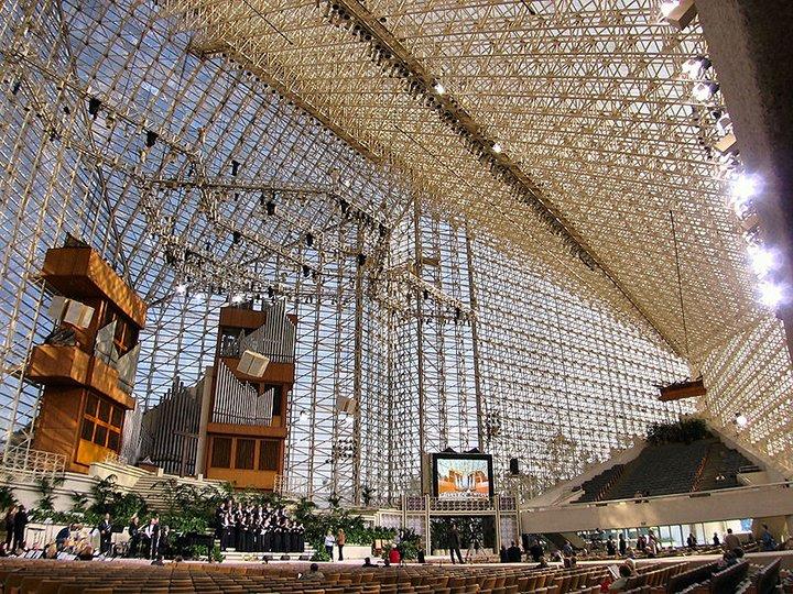 Kaliforniya'daki Kristal Katedral 1